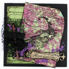 #Stampendous What's New » Raven Background #Halloween Inspiration