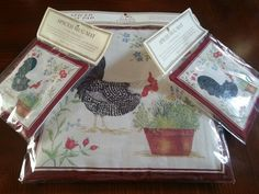 Spiced Tea Mats Biltmore Estates Gift Shop