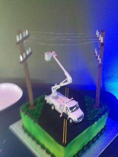 Lineman's Grooms cake