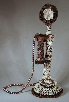 Crochet Art--Telephone Tales | crochet today