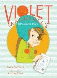 """Introducing Violet Mackerel, a charismatic new chapter book star with a zest for life and an endearing, relatable voice akin to Ramona Quimby and Junie B. Jones. Violet is a seven-year-old with a knack for appreciating the smallest things in life: her """"Theory of Finding Small Things"""" states that the moment of finding a tiny treasure usually coincides with the moment of having a genius idea!"""