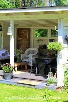 Garden shed turned garden retreat!