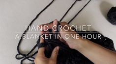 How to Hand Crochet