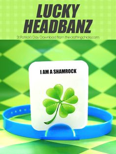 Lucky Headbanz Game - St Patrick's Day edition game