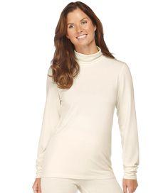 LL bean Heat Keepers Everyday Long Underwear, T-Neck $24.99