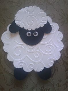 Cute card! Looks like Shaun the Sheep!