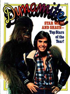 Shaun Cassidy and Chewbacca