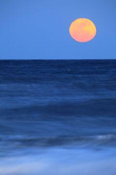 Super Moon Virginia Beach Oceanfront, a photo from South Virginia