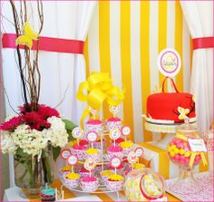 B'day party decor