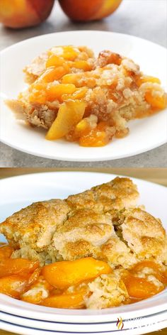 Best Ever Southern Peach Cobbler is the simple recipe of your dreams. Fresh sweet peaches baked in a spiced sugar mixture and topped with the most amazing cobbler topping. Sprinkled with sugar for a caramelized topping it is heaven on a plate. #peachcobbler #summer