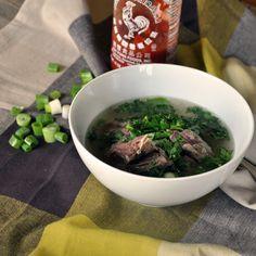 Beef Short rib soup!