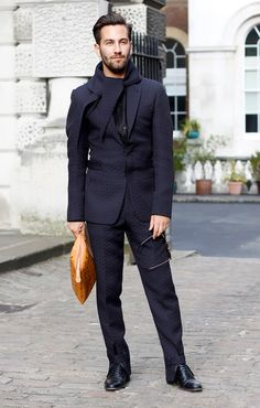 Chic.  #menswear #fashion #streetstyle
