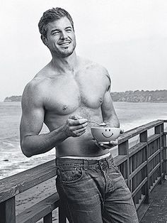 this man, early mornings, mcsteami, eric dane shirtless, greys anatomy, beauti, boy, celebr, bowls