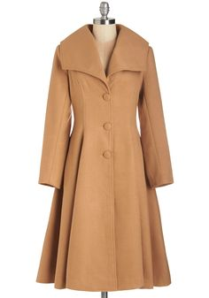 Intrigue All About It Coat in Camel