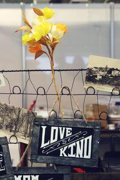 oh, hello friend: you are loved. Unique LA craft show. craft stall, chalkboard signs, crafti idea, hello friend