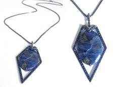 """LRVT Tanzanite & Blue Sapphire """"Terra"""" Pendant"""