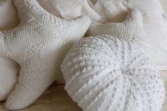 More beach house pillows