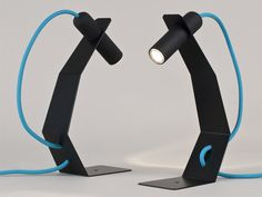 Cool and simple lamp design.