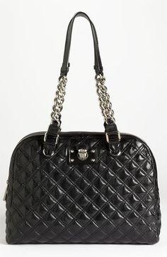 MARC JACOBS 'Karlie' Leather Shoulder Bag