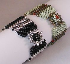 TUTORIAL Zippy Bracelet with Sunburst Snaps -- Mikki Ferrugiaro