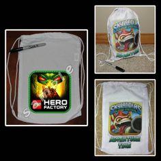LEGO HERO FACTORY MINI DRAWSTRING SPORT PACK
