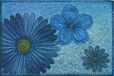 SheepSpace: Fabric Postcards