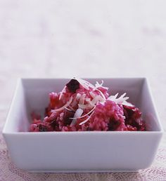 Roasted Beet Risotto Photo - Risotto Recipe | Epicurious.com