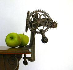 Antique Apple Peeler  Sinclair Scott Co by Mylittlethriftstore, $75.00