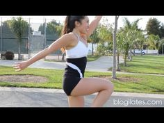 Food Baby HIIT Workout (POP Cardio) My workout instructor of the internet! :)