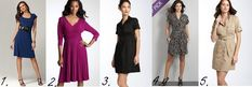 Best dresses and sweaters for pear body shape