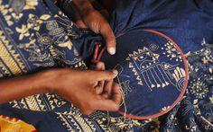 hand embroidery, hand sewn, bordado, hand stitching, hand crafts, muji, fabric, needl, embroideri
