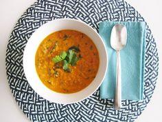 Vegan Coconut Curry Lentil Soup | Vegangela