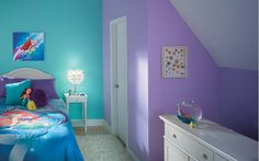 Disney Kids' Rooms with Disney Paint