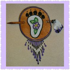Barrette by Brenda Mahan, 8/9/14, Athabascan from Galena, Alaska