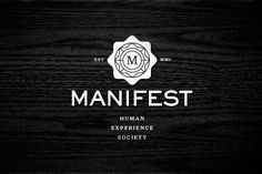 Neat mandala-like branding from Manifest