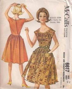 VINTAGE PATTERNS 20s 30s - Vintage 1920s and 1930s Dress