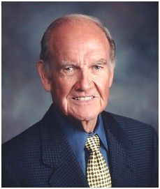 """George McGovern, author, politician, historian; U.S. Represenatitve, U.S. Senator and Democratice Party presidential nominee in 1972 presidential election; wrote """"Terry"""", """"Agricultural Thought in the Twentieth Century"""", """"A Time of War! A Time of Peace"""", """"The Third Freedom: Ending Hunger in Our Time"""" and """"Essential America: Our Founders and the Liberal Tradition"""""""
