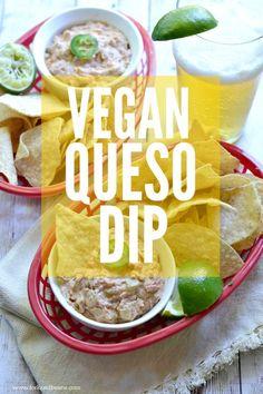 Vegan Gluten-free Queso Dip - via @Christine & Beans