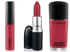 MAC's fashion set in russian red