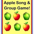Play an ACTIVE GROUP GAME about Apples and a Hungry Squirrel!  Make a simple APPLE CRAFT!  Learn a funny SONG!  Make an APPLE FLOOR GRAPH at the end of your game, to count and compare those apples!  Activity Packet contains Apple Templates, Squirrel Template, easy Song Notes, and Apple Floor Graph instructions.  Just add some colorful apple slices for snack time!  MULTI-SENSORY LEARNING from Joyful Noises Express TpT!  $