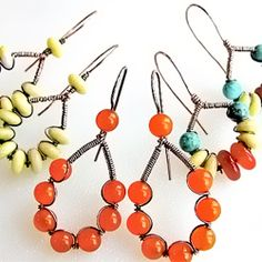 Wire and Bead Earring How-To | A Step-by-Step Wire Earring Tutorial