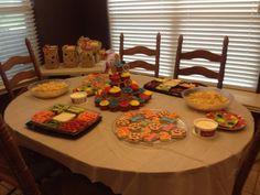 Paw Patrol birthday spread