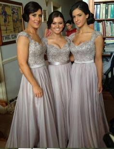 Love this for bridesmaid dresses but knee length instead of floor length