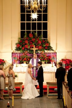 Classic Southern Christmas Wedding |Meredith Perdue
