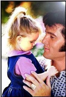 Lisa Marie Presley and Elvis
