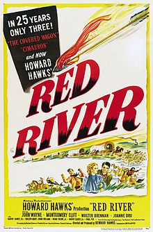 Red River (1948) - John Wayne, Montgomery Clift, Joanne Dru - I love a good Western, and this is one of the best ever made. Yes, it's Hollywood-issue, tailored for the era, but it has John Wayne, Montgomery Clift and a stampede. Who could ask for more?