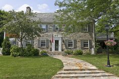 Center Hall Colonial Revival