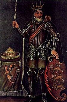 """Brian Boru, legendary Ard Righ or High King of Ireland.  He married a redheaded """"sorceress"""" but their children did not live up to their father's legacy."""