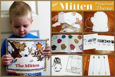 The Mitten Preschool Theme
