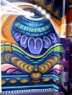Street Art off Cuba Street, Wellington, New Zealand